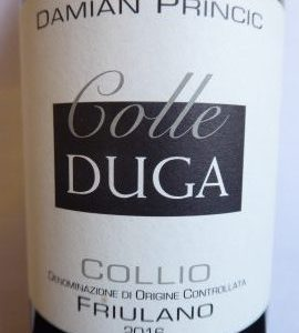Friulano 2016, Colle Duga Damian Princic