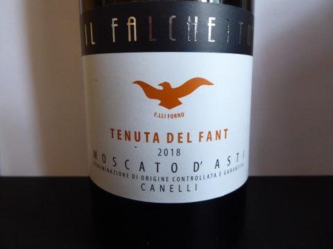 Moscato d'Asti Tenuta del Fant 2018, Il Falchetto
