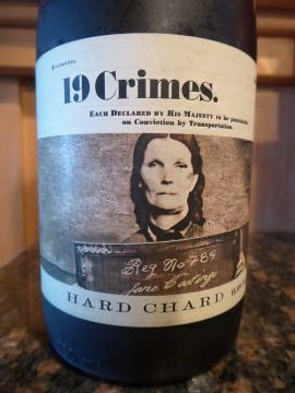 Hard Chardonnay 2016, 19 Crimes