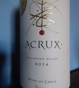 Acrux 2014, Viña Sutil