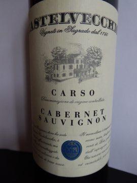 Castelvecchio Cabernet Sauvignon Carso 2016