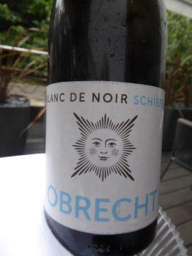 Blanc de Noir Schiefer 2019, Weingut Obrecht, Jenins