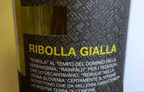 Ribolla Gialla Forchir 2018