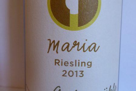 Riesling Maria 2013, Ankermühle