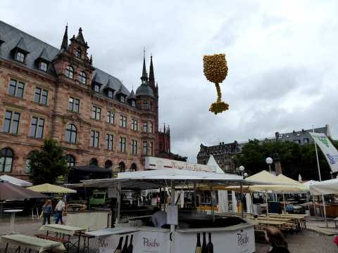 Rheingau Wine Festival Wiesbaden, Germany